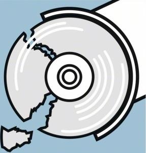 Разрушение диска